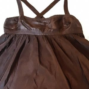 $49 J. Crew woman dresss size 8 Brown in color,